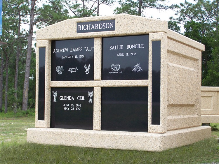 fortress mausoleums four space mausoleum the world 39 s best built and most affordable mausoleums. Black Bedroom Furniture Sets. Home Design Ideas