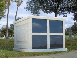 Four-space basic mausoleum