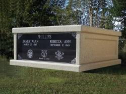 Side-by-side basic mausoleum