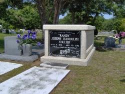 Single basic mausoleum in Bayou LaBatre, AL